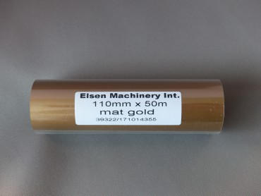 Gold Transferfilm Elsen Machinery
